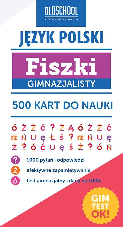Język polski. Fiszki gimnazjalisty. 500 kart do nauki - Ebook (Książka EPUB) do pobrania w formacie EPUB