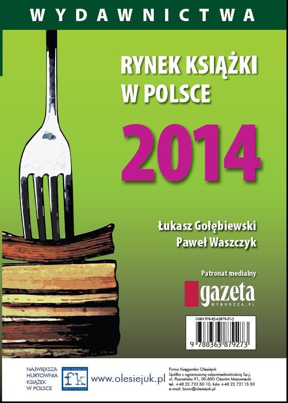 Rynek książki w Polsce 2014. Wydawnictwa - Ebook (Książka PDF) do pobrania w formacie PDF