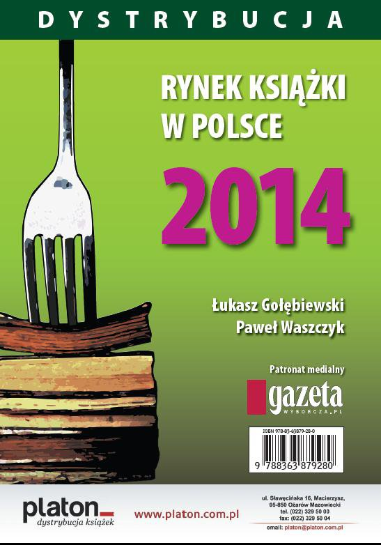 Rynek książki w Polsce 2014. Dystrybucja - Ebook (Książka PDF) do pobrania w formacie PDF