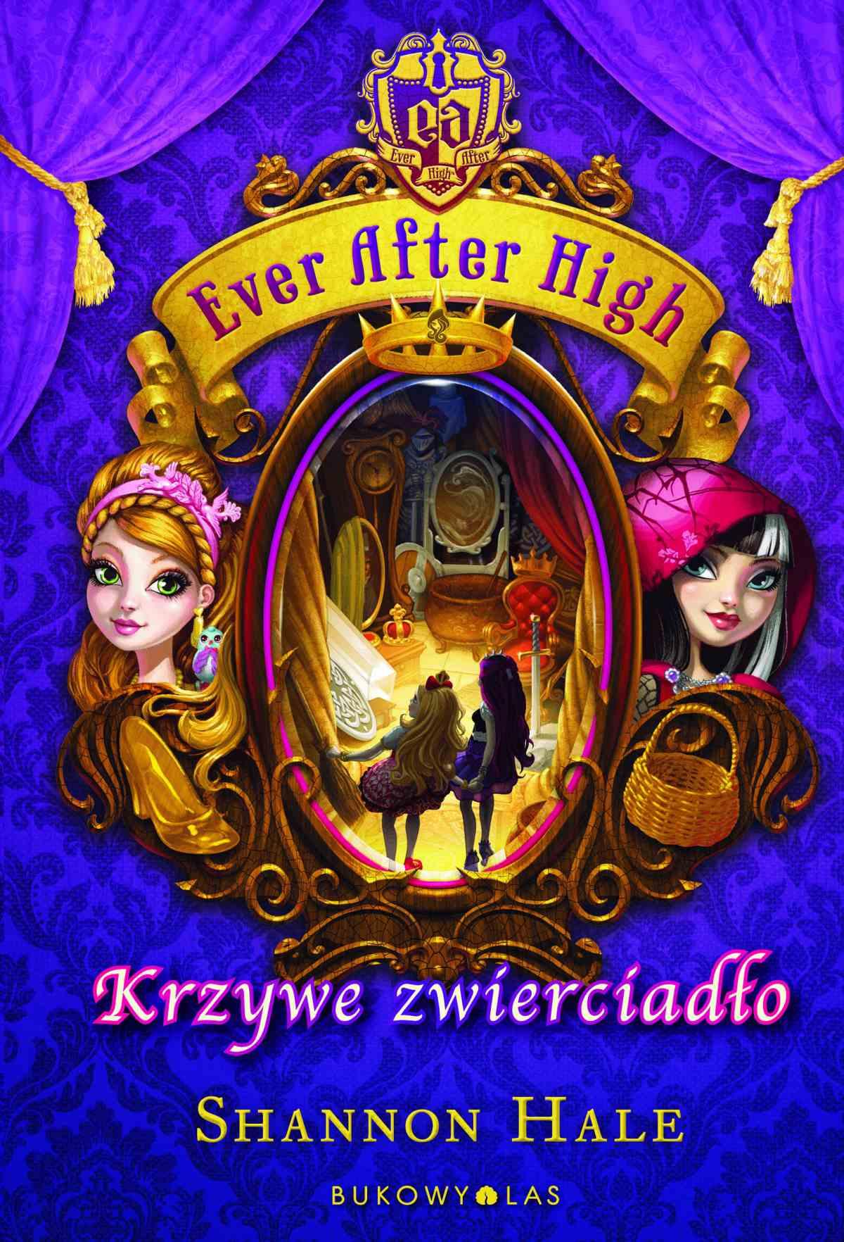 Ever After High. Krzywe zwierciadło - Ebook (Książka na Kindle) do pobrania w formacie MOBI