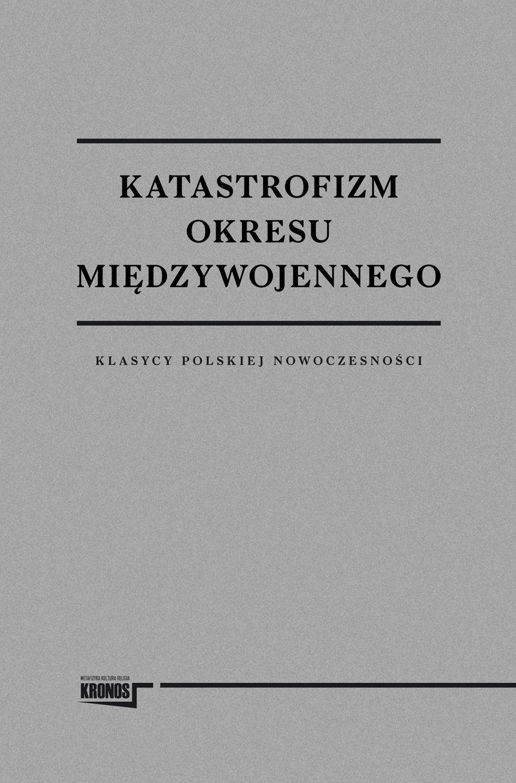 Katastrofizm okresu międzywojennego - Ebook (Książka EPUB) do pobrania w formacie EPUB