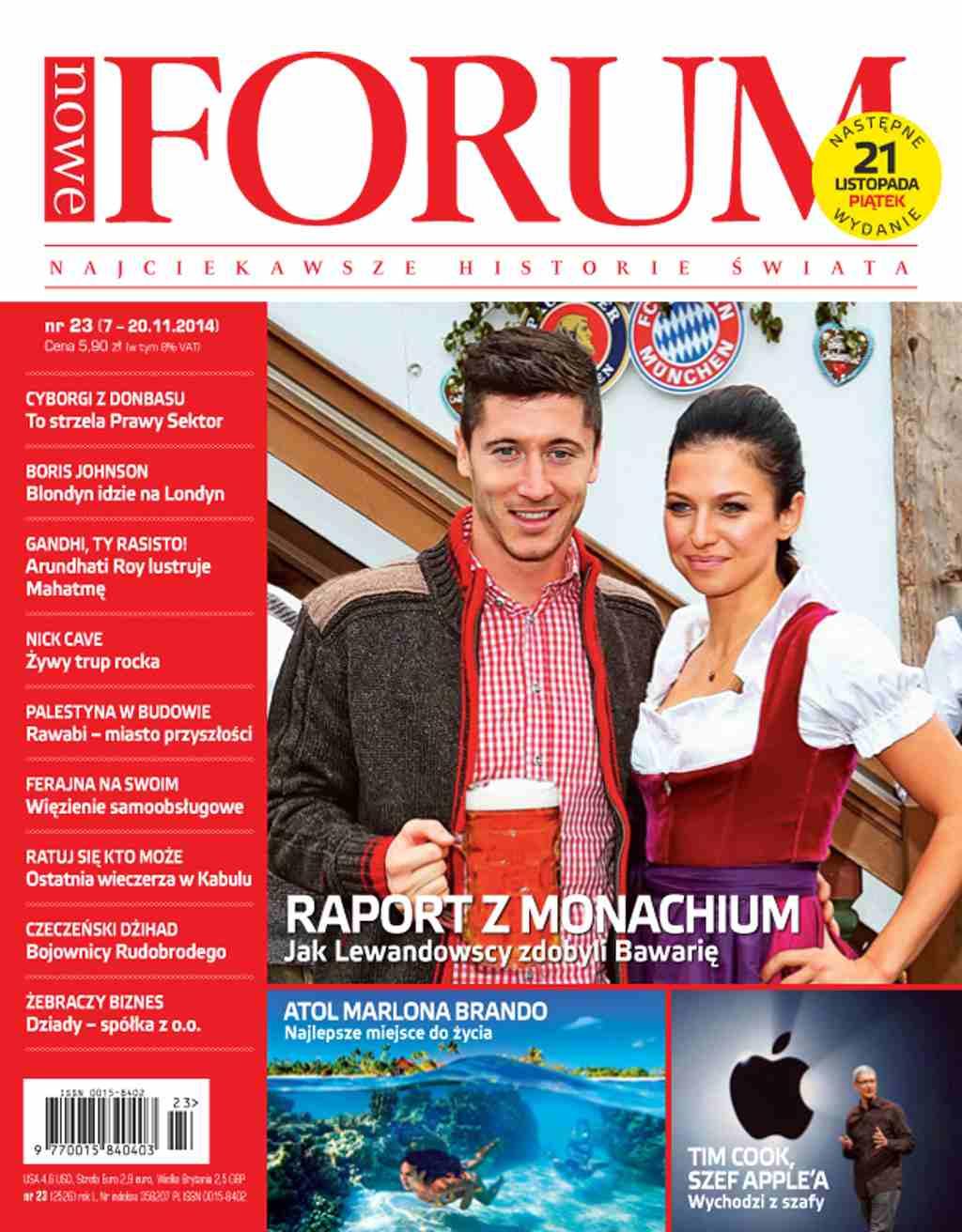 Forum nr 23/2014 - Ebook (Książka PDF) do pobrania w formacie PDF