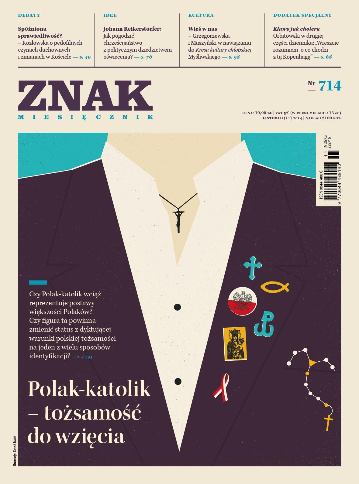 Miesięcznik Znak. Listopad 2014 - Ebook (Książka EPUB) do pobrania w formacie EPUB