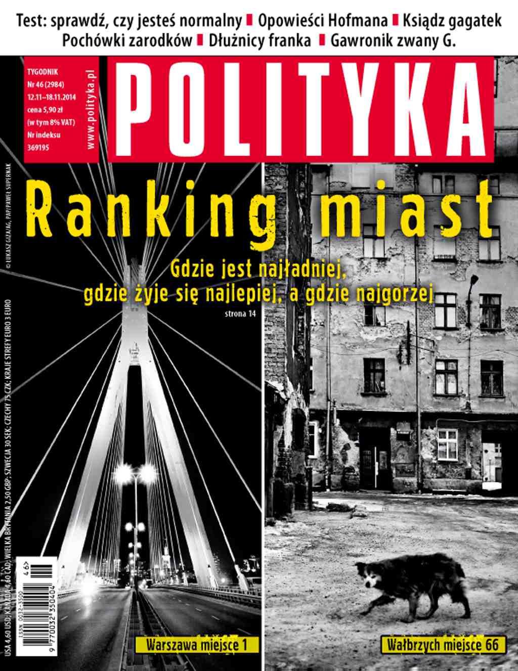 Polityka nr 46/2014 - Ebook (Książka PDF) do pobrania w formacie PDF