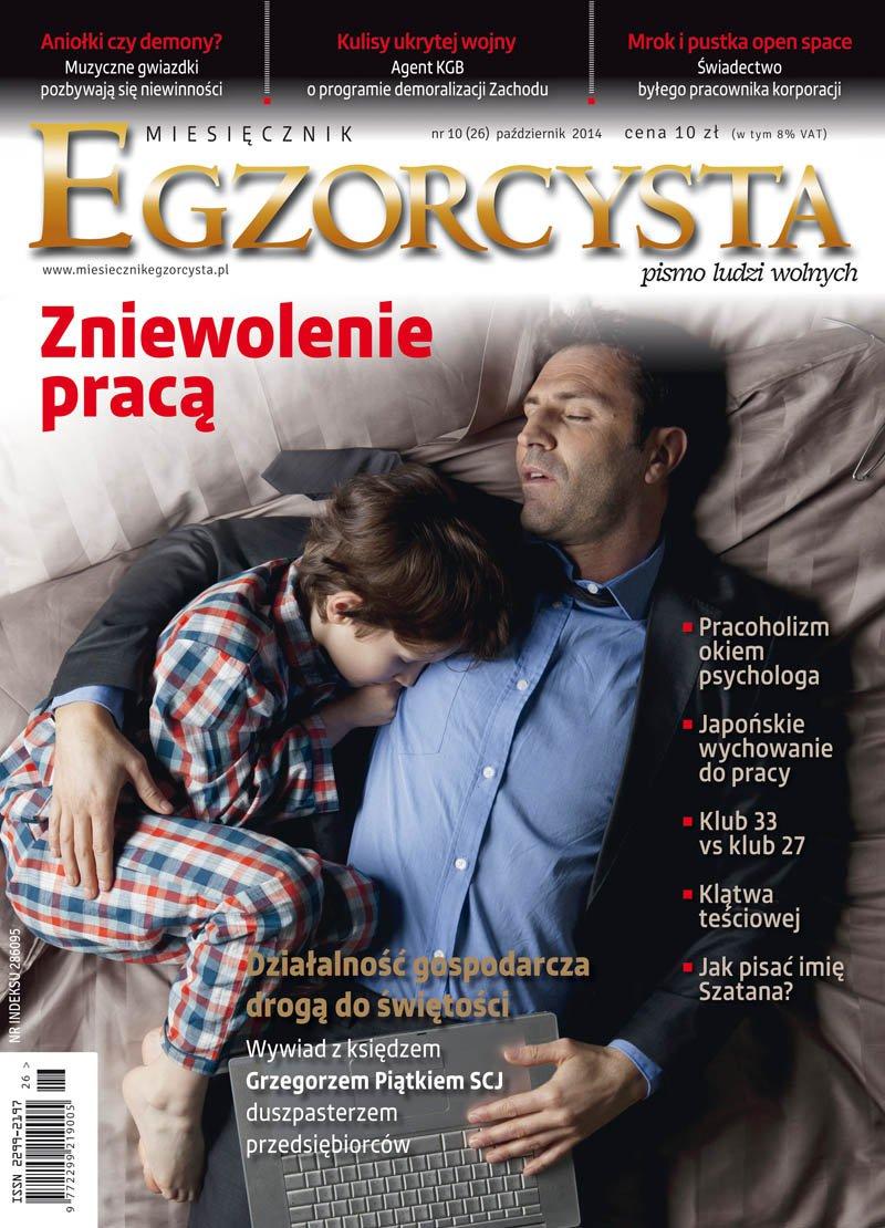 Miesięcznik Egzorcysta. Październik 2014 - Ebook (Książka PDF) do pobrania w formacie PDF