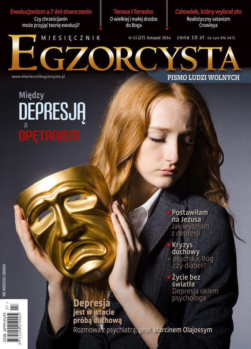 Miesięcznik Egzorcysta. Listopad 2014 - Ebook (Książka PDF) do pobrania w formacie PDF