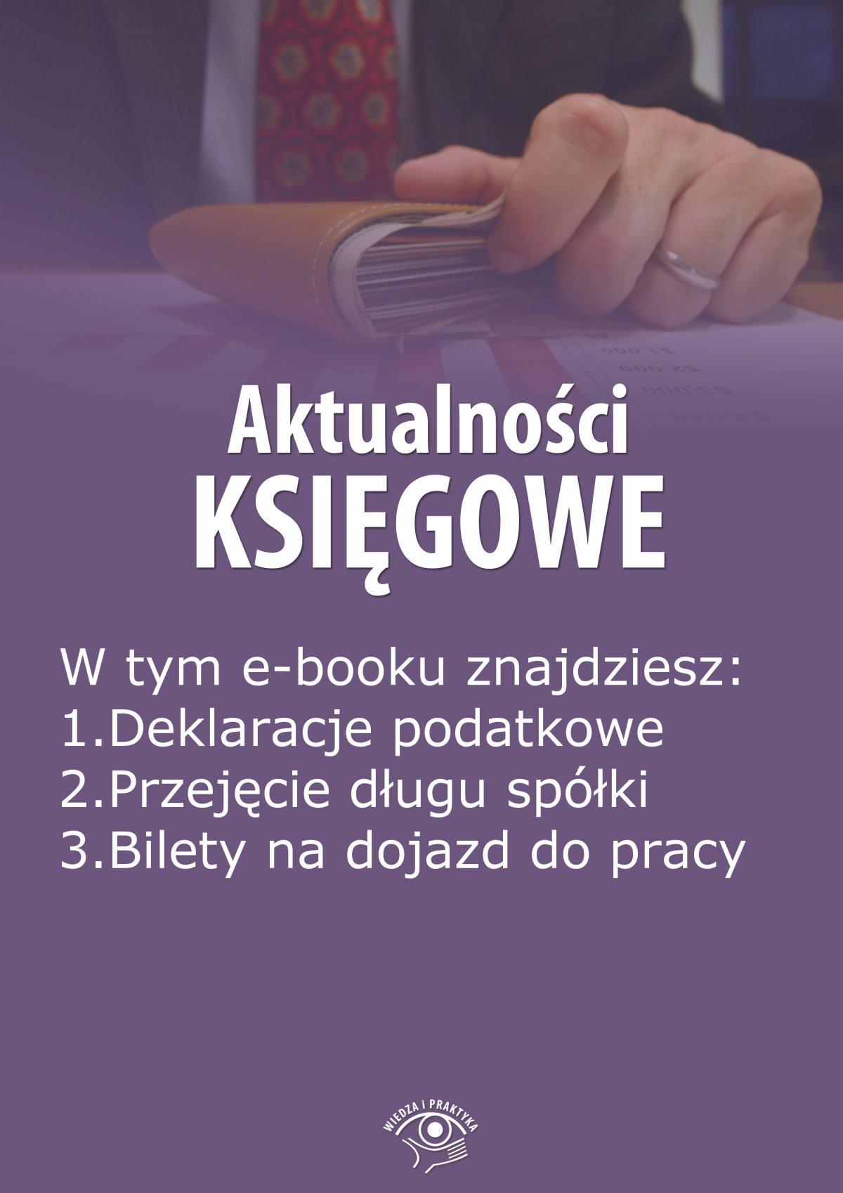 Aktualności księgowe, wydanie wrzesień 2014 r. - Ebook (Książka EPUB) do pobrania w formacie EPUB