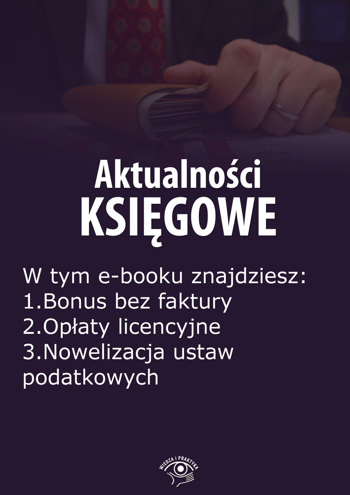 Aktualności księgowe, wydanie październik 2014 r. - Ebook (Książka EPUB) do pobrania w formacie EPUB