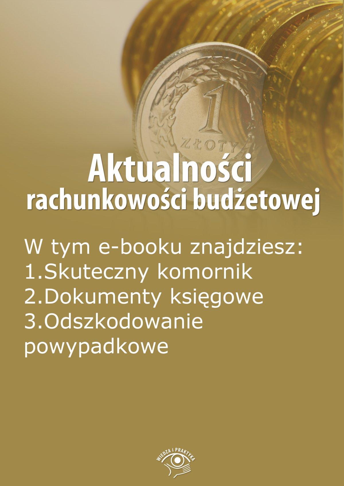 Aktualności rachunkowości budżetowej, wydanie lipiec 2014 r. - Ebook (Książka EPUB) do pobrania w formacie EPUB