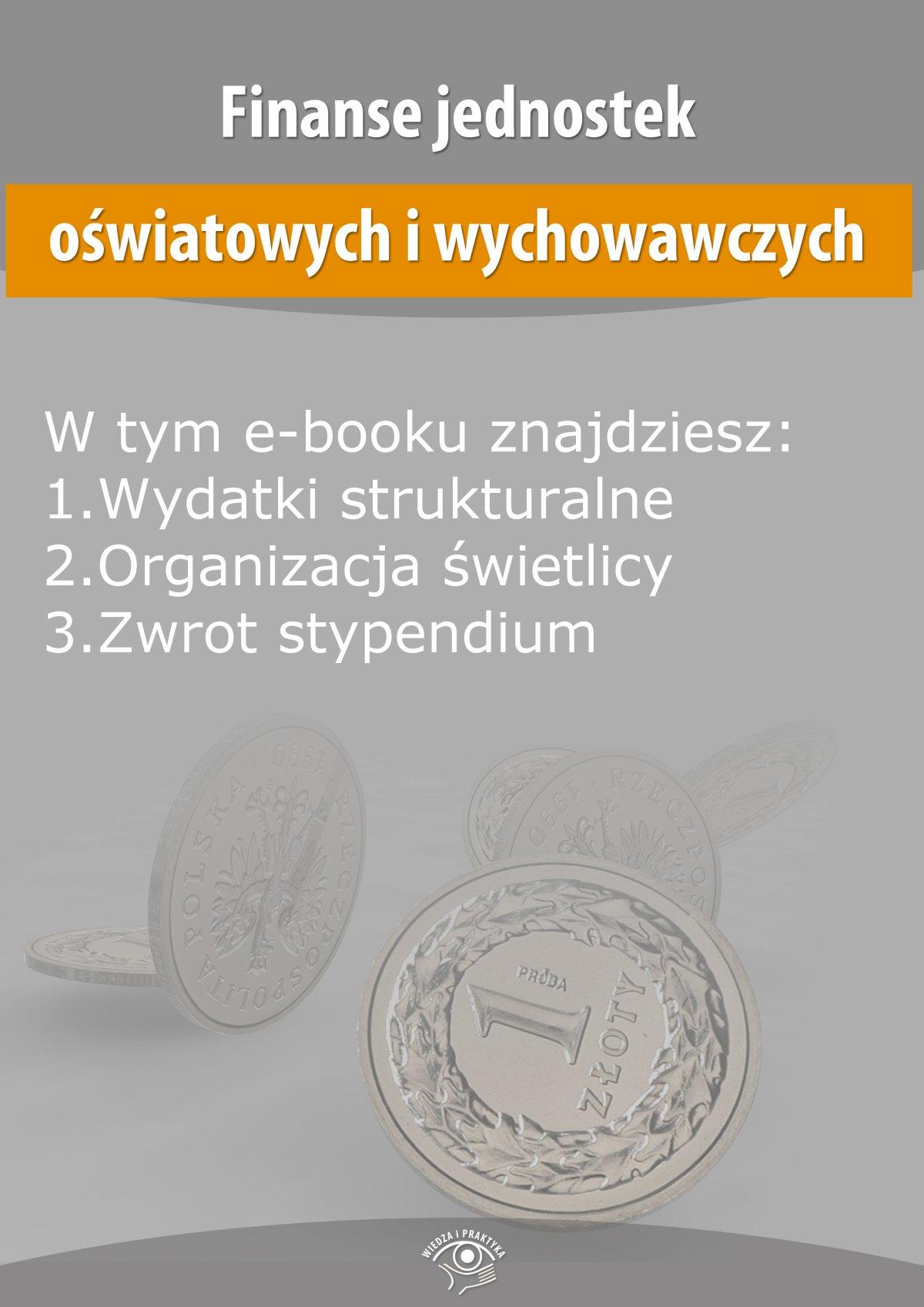 Finanse jednostek oświatowych i wychowawczych, wydanie kwiecień 2014 r. - Ebook (Książka EPUB) do pobrania w formacie EPUB
