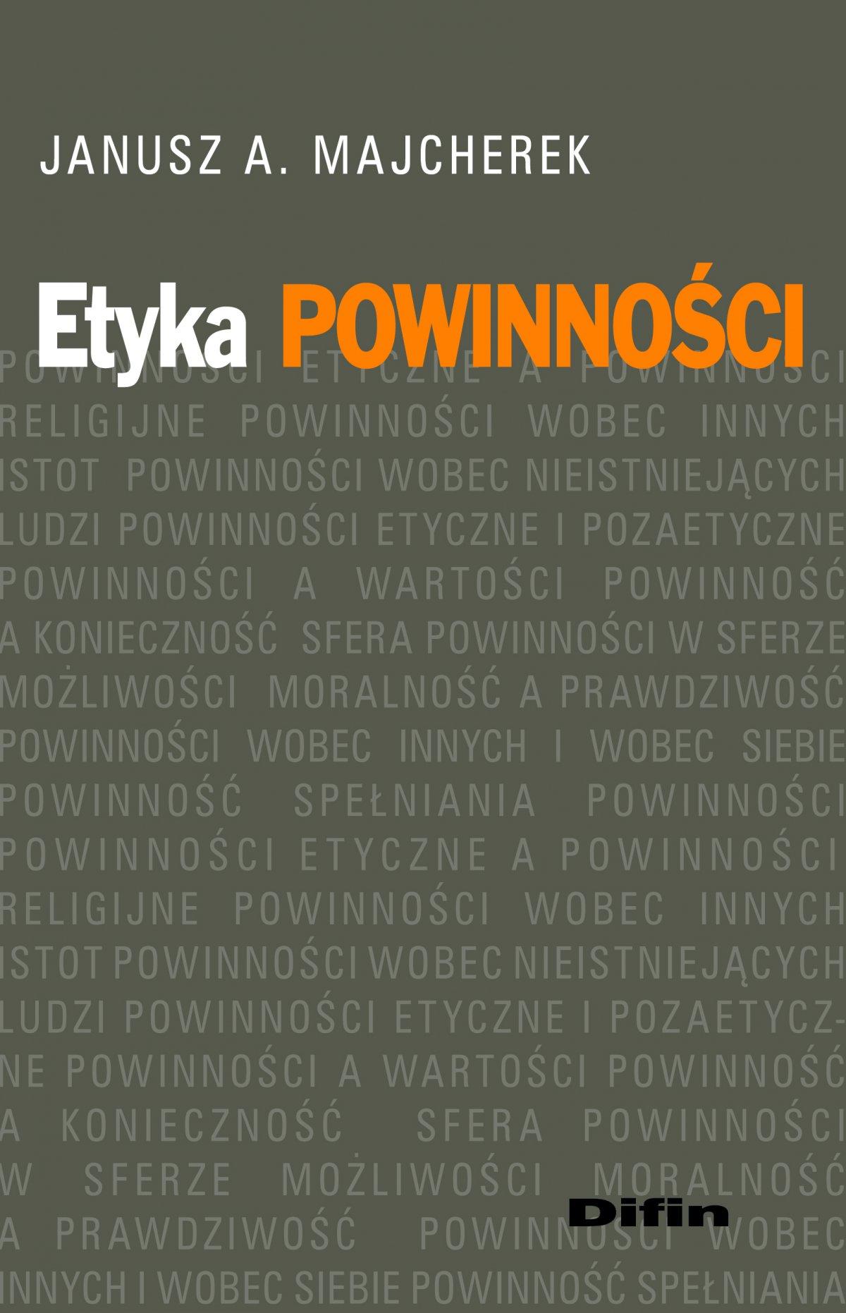 Etyka powinności - Ebook (Książka PDF) do pobrania w formacie PDF
