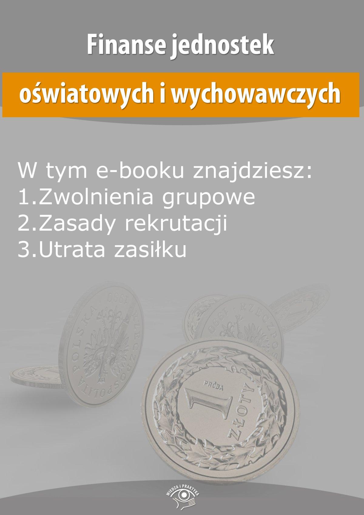 Finanse jednostek oświatowych i wychowawczych, wydanie maj 2014 r. - Ebook (Książka EPUB) do pobrania w formacie EPUB