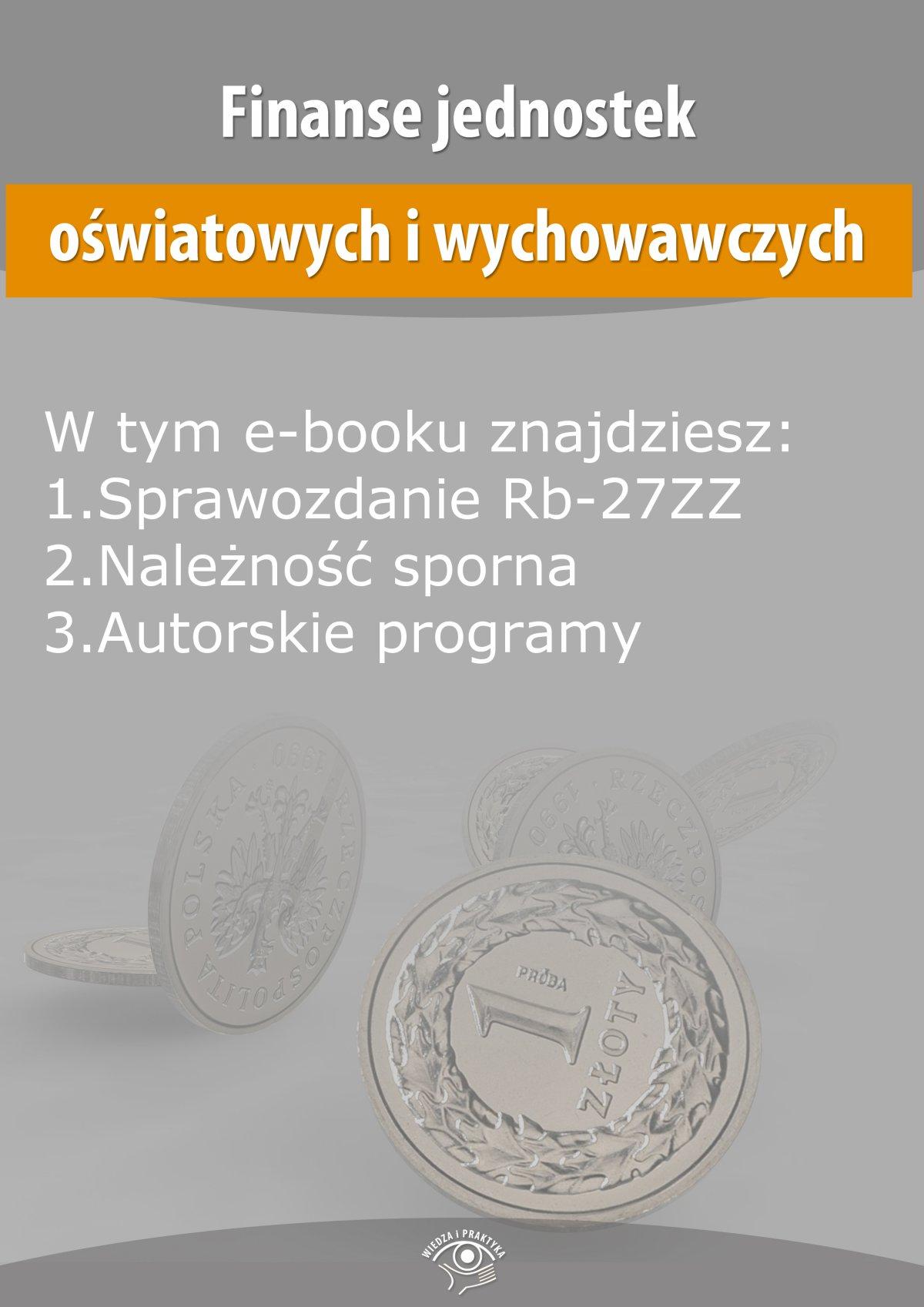 Finanse jednostek oświatowych i wychowawczych, wydanie czerwiec 2014 r. - Ebook (Książka EPUB) do pobrania w formacie EPUB