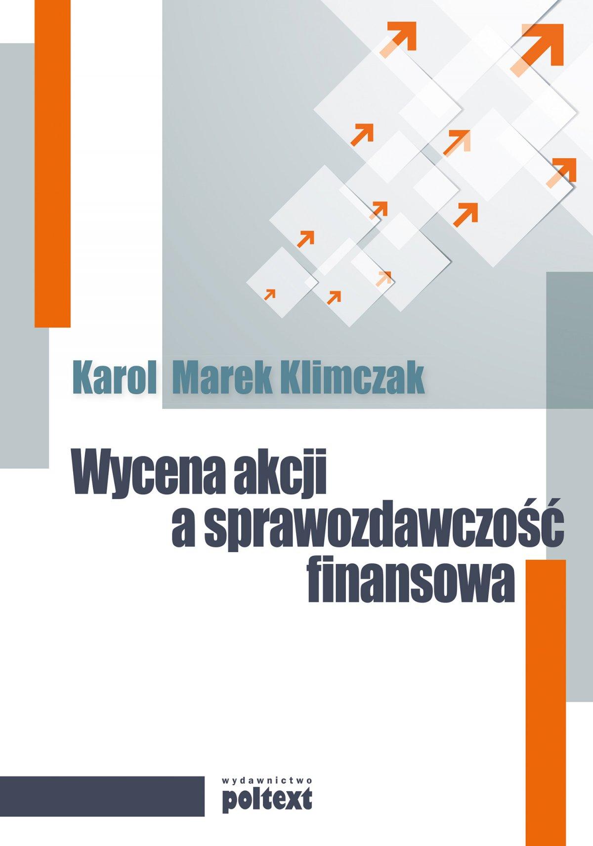 Wycena akcji a sprawozdawczość finansowa - Ebook (Książka EPUB) do pobrania w formacie EPUB