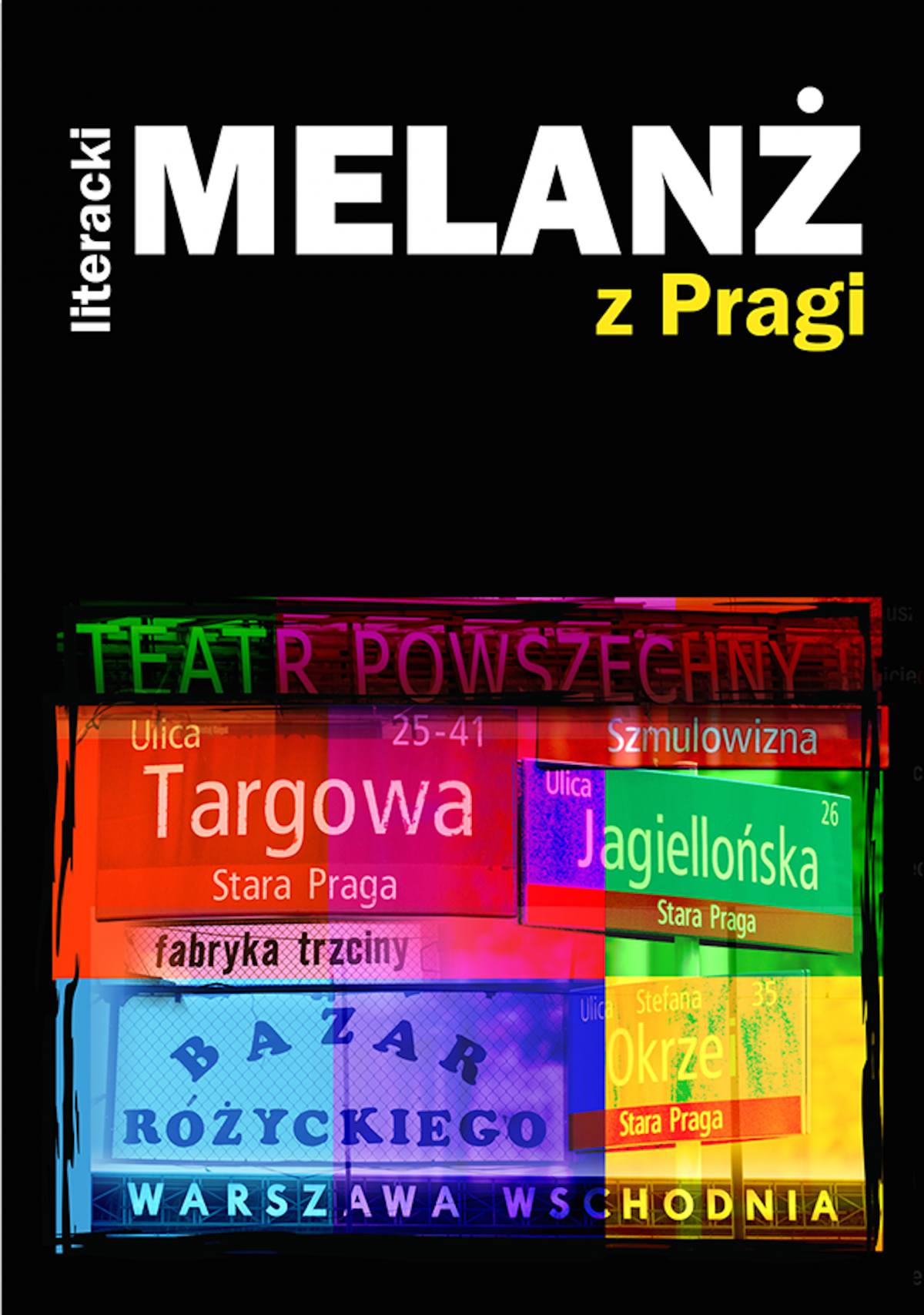 Literacki Melanż z Pragi - Ebook (Książka na Kindle) do pobrania w formacie MOBI