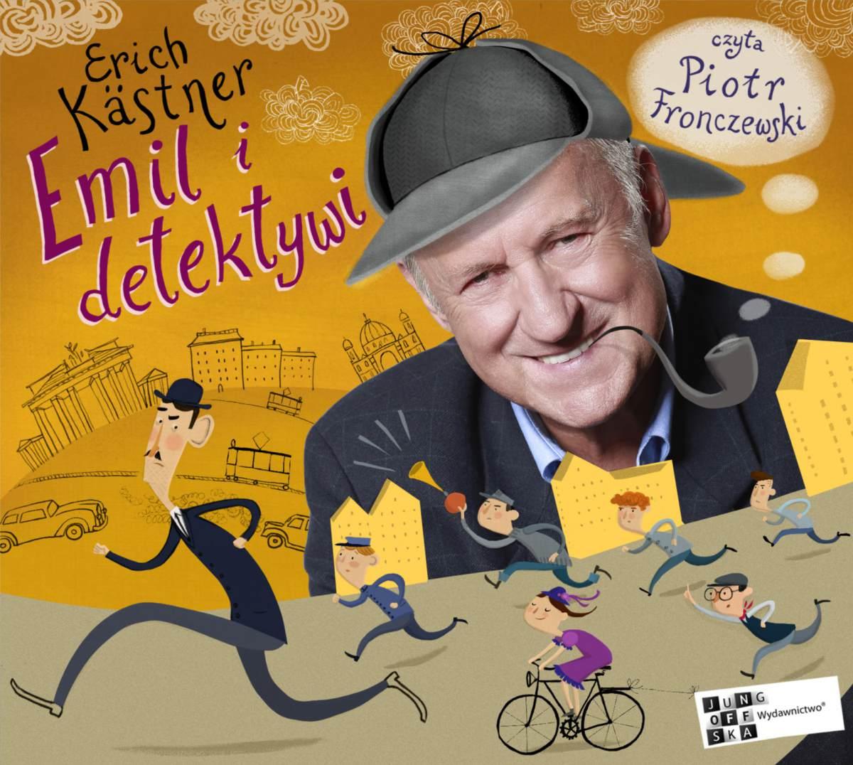 Emil i detektywi - Audiobook (Książka audio MP3) do pobrania w całości w archiwum ZIP