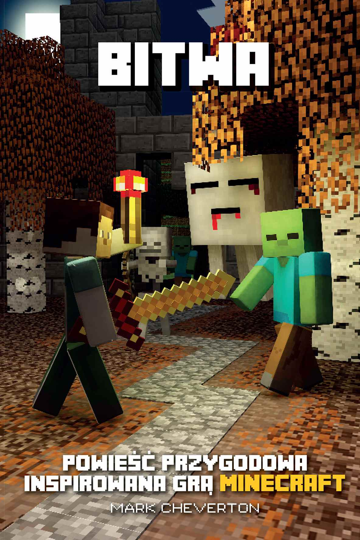 Minecraft. Bitwa - Ebook (Książka na Kindle) do pobrania w formacie MOBI
