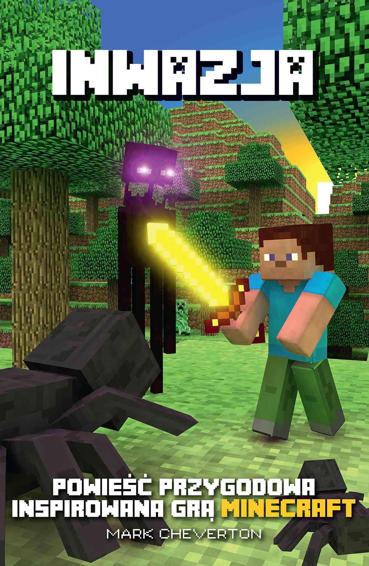 Minecraft. Inwazja - Ebook (Książka na Kindle) do pobrania w formacie MOBI