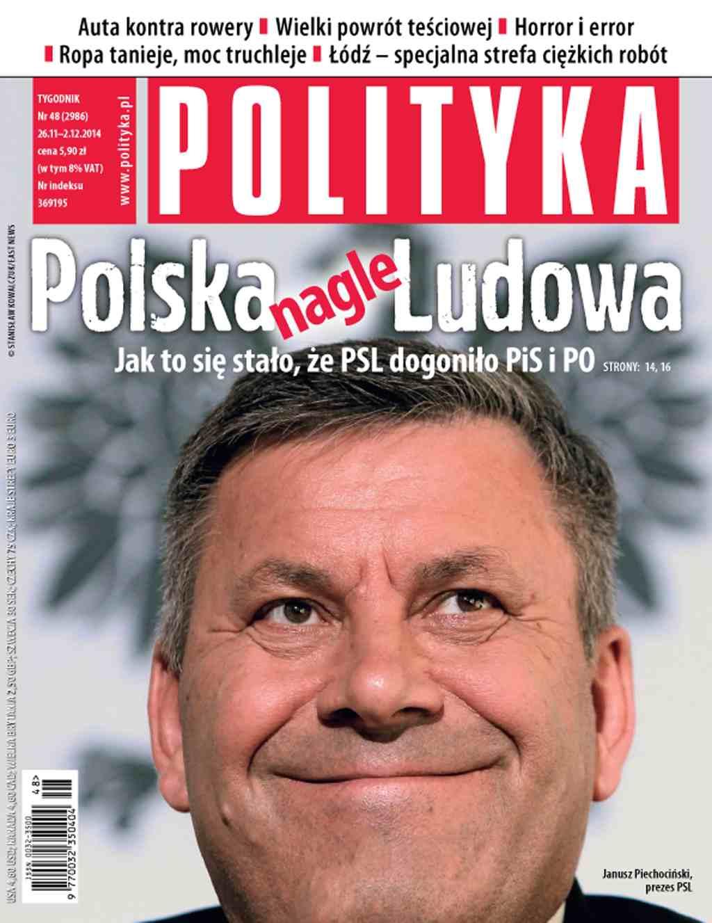 Polityka nr 48/2014 - Ebook (Książka PDF) do pobrania w formacie PDF