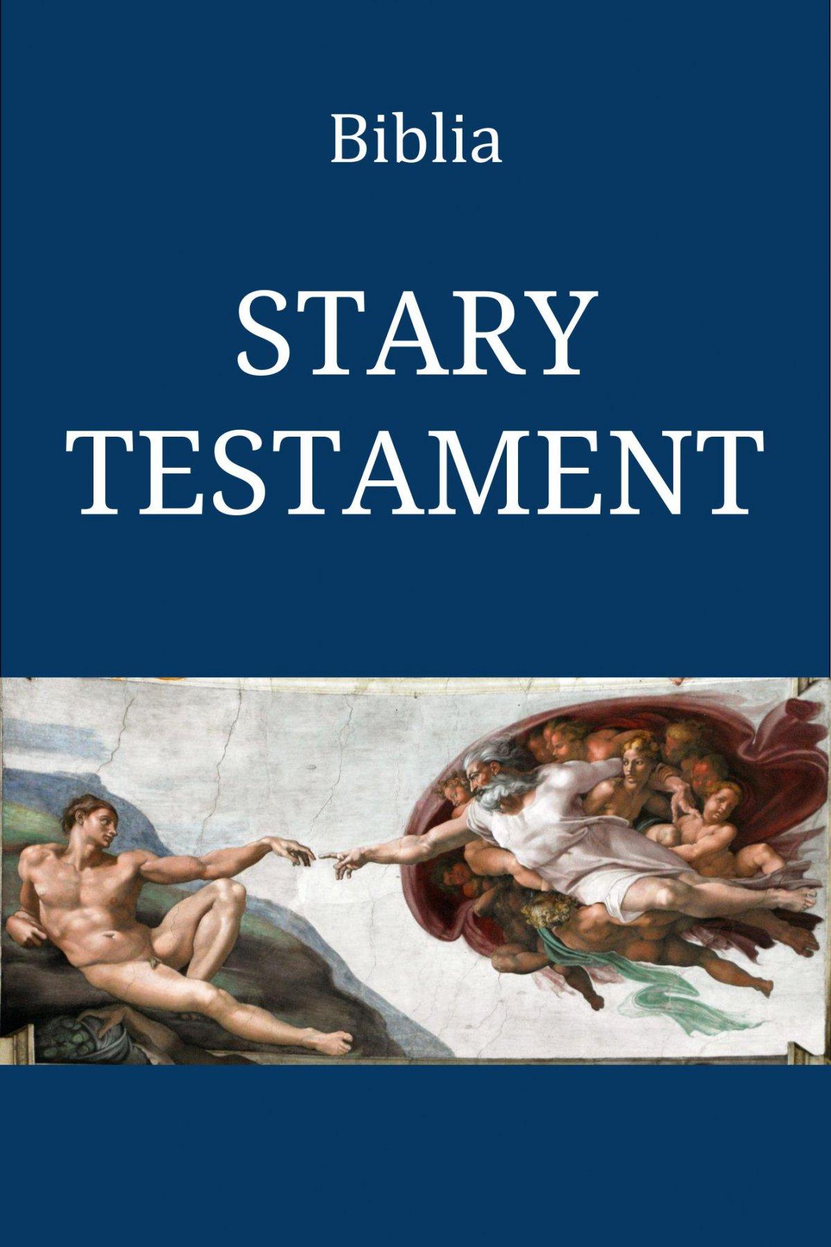 Biblia. Stary Testament - Ebook (Książka EPUB) do pobrania w formacie EPUB