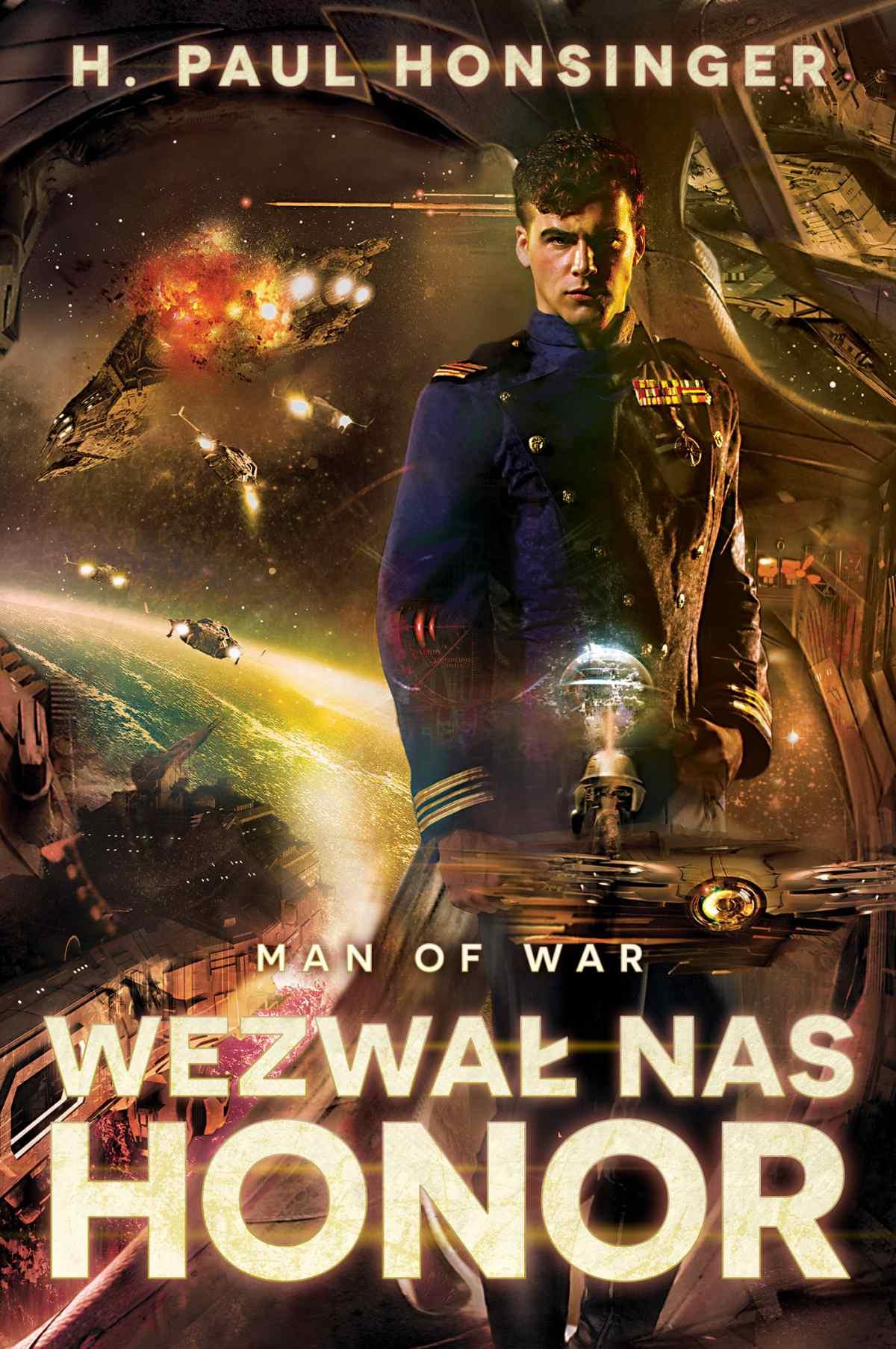 Man of War. Wezwał nas honor - Ebook (Książka EPUB) do pobrania w formacie EPUB