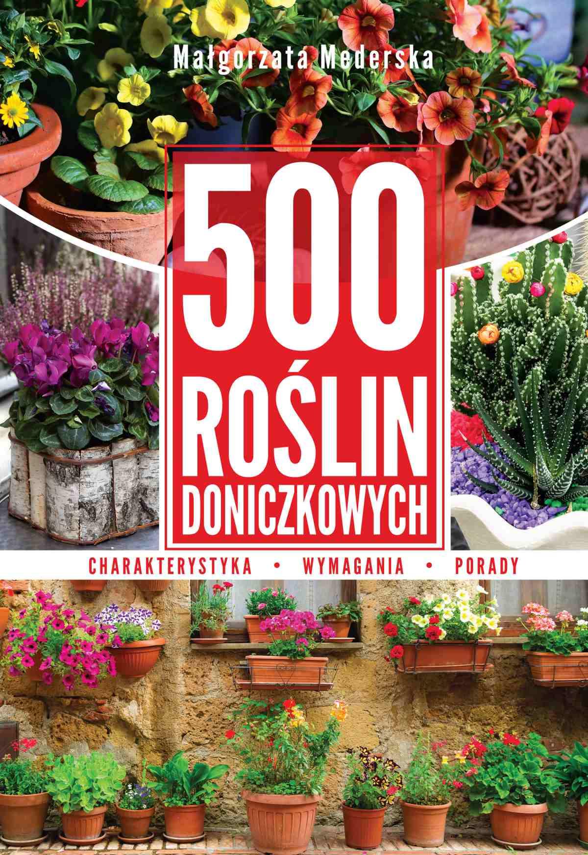 500 roślin doniczkowych - Ebook (Książka PDF) do pobrania w formacie PDF