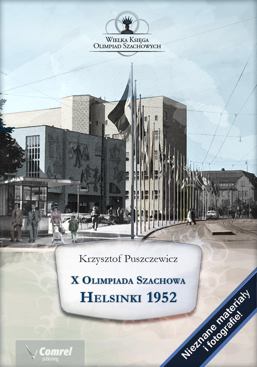 X Olimpiada Szachowa. Helsinki 1952 - Ebook (Książka PDF) do pobrania w formacie PDF