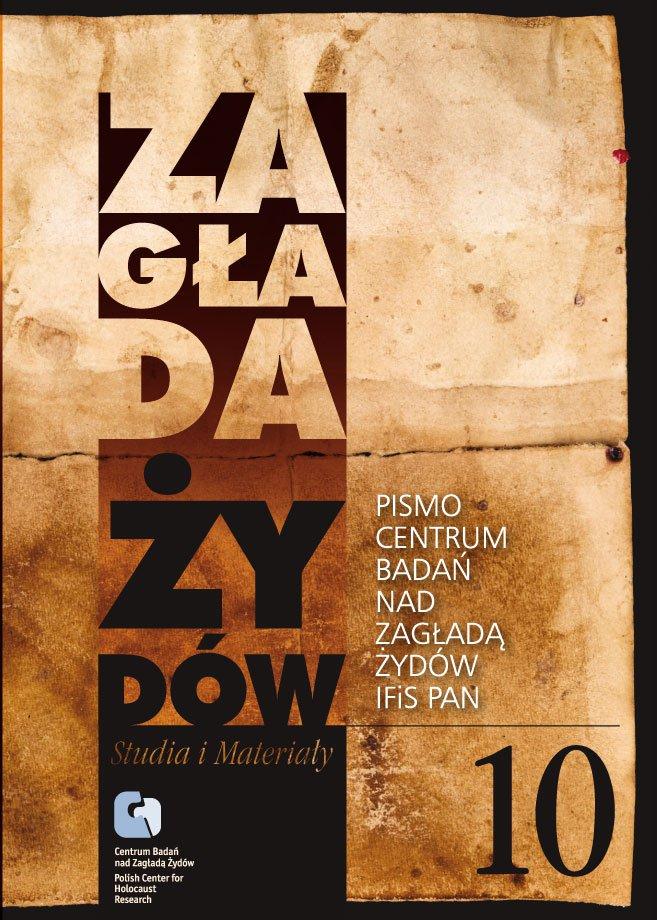 Zagłada Żydów. Studia i Materiały nr 10 R. 2014 t. I-II - Ebook (Książka EPUB) do pobrania w formacie EPUB