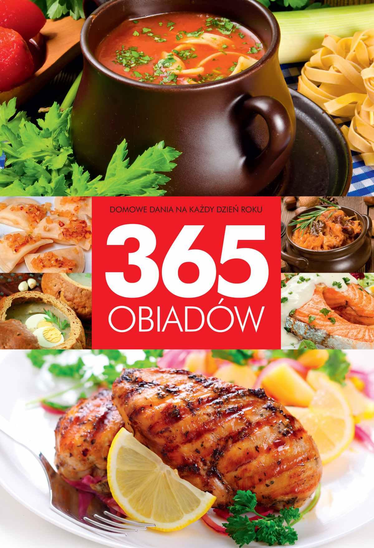 365 obiadów - Ebook (Książka PDF) do pobrania w formacie PDF