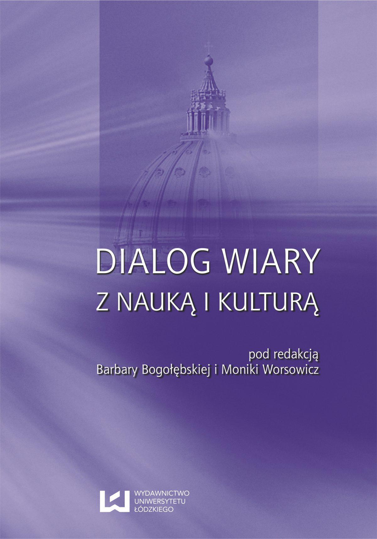 Dialog wiary z nauką i kulturą - Ebook (Książka PDF) do pobrania w formacie PDF