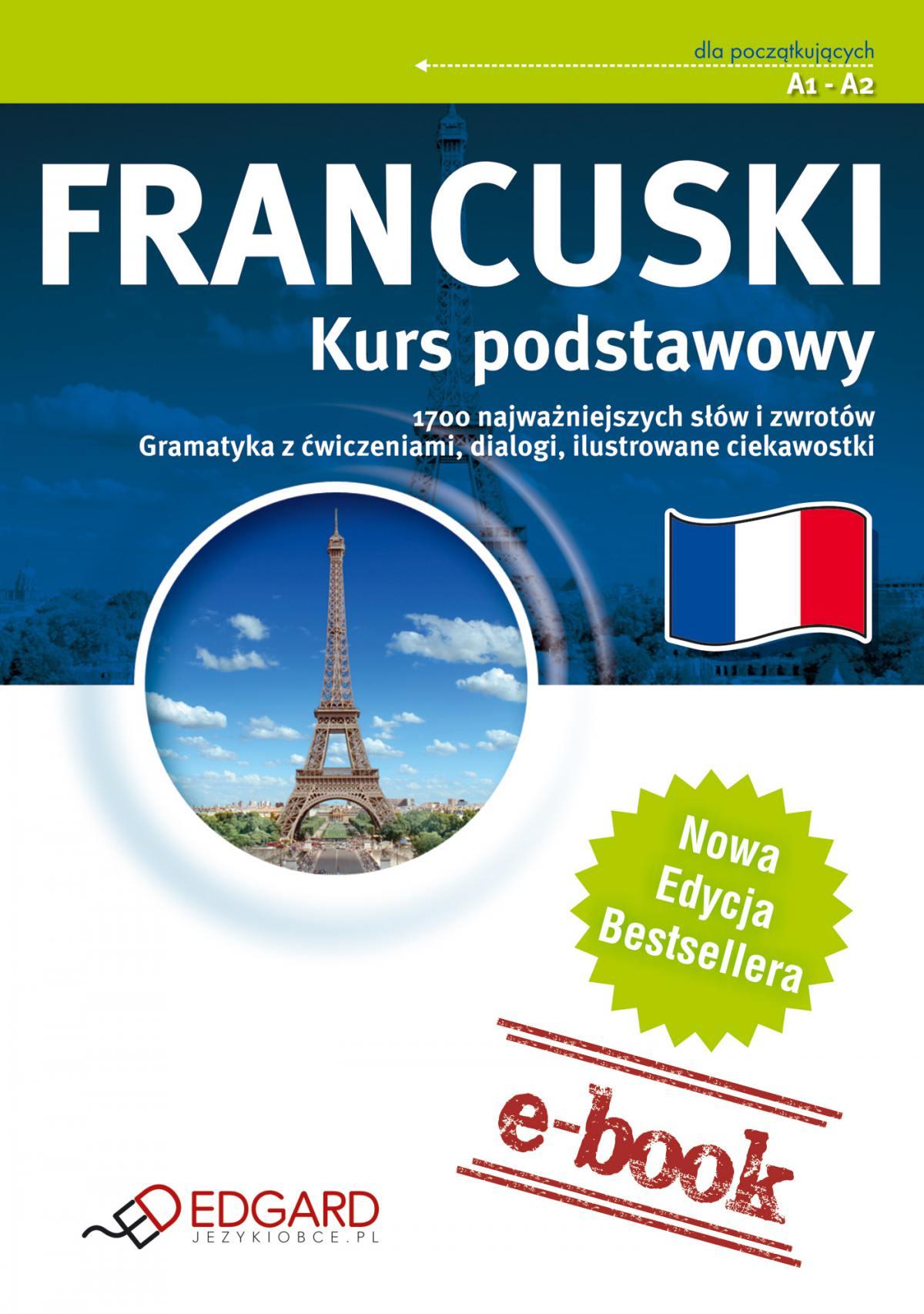Francuski Kurs podstawowy - Ebook (Książka na Kindle) do pobrania w formacie MOBI