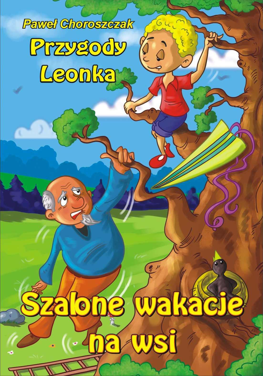 Szalone wakacje na wsi - Ebook (Książka na Kindle) do pobrania w formacie MOBI