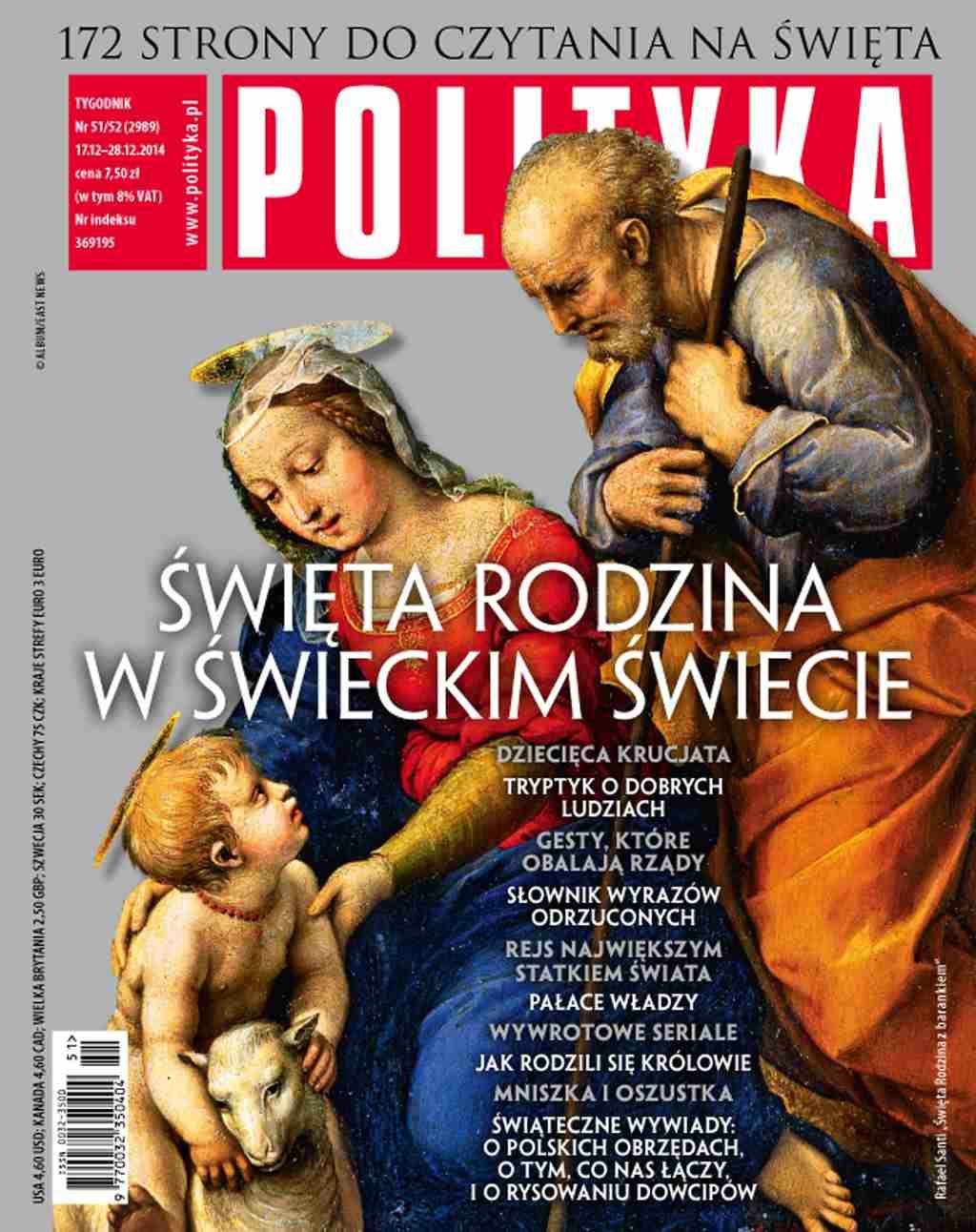Polityka nr 51/52/2014 - Ebook (Książka PDF) do pobrania w formacie PDF