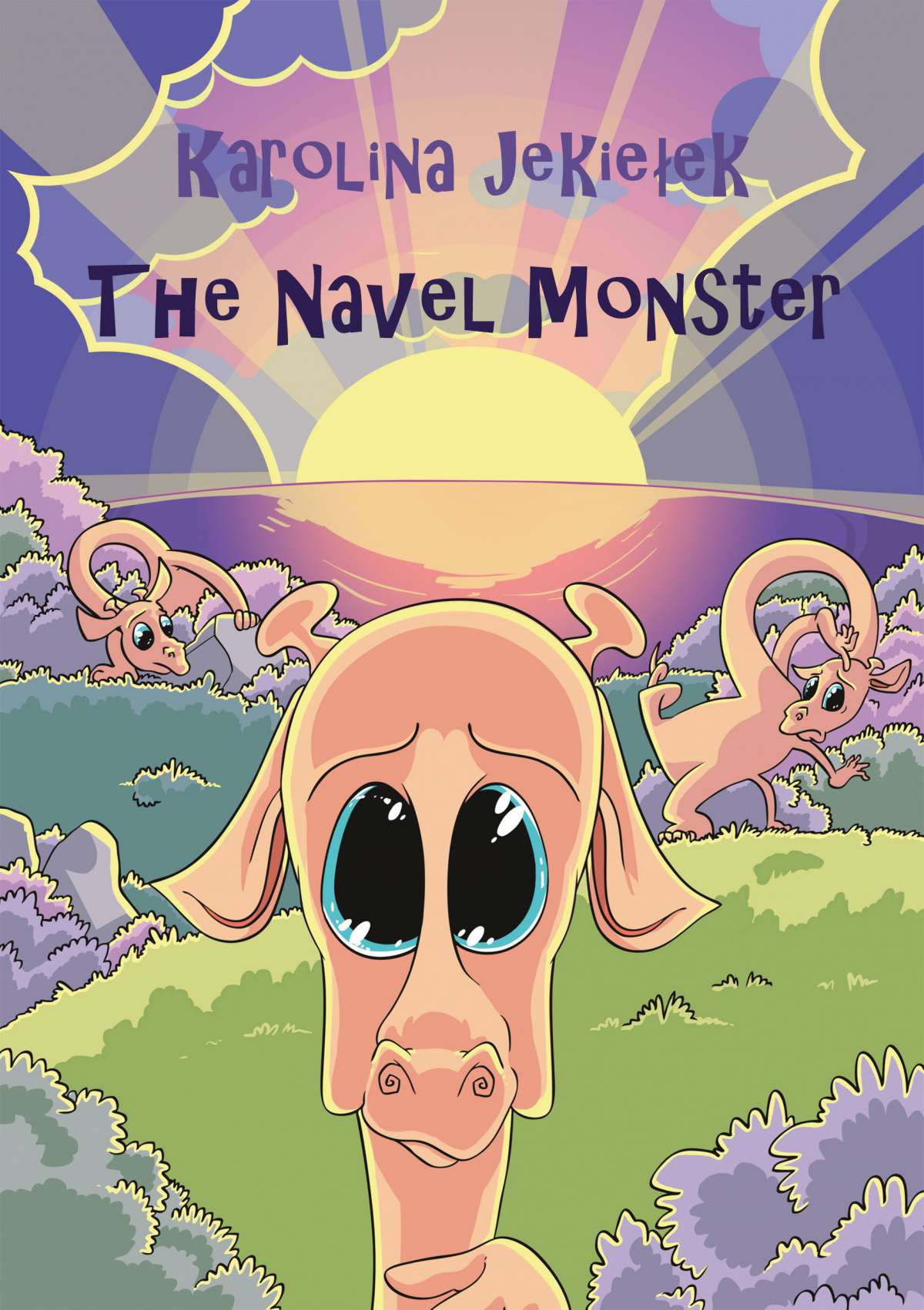 The Navel monster - Ebook (Książka EPUB) do pobrania w formacie EPUB