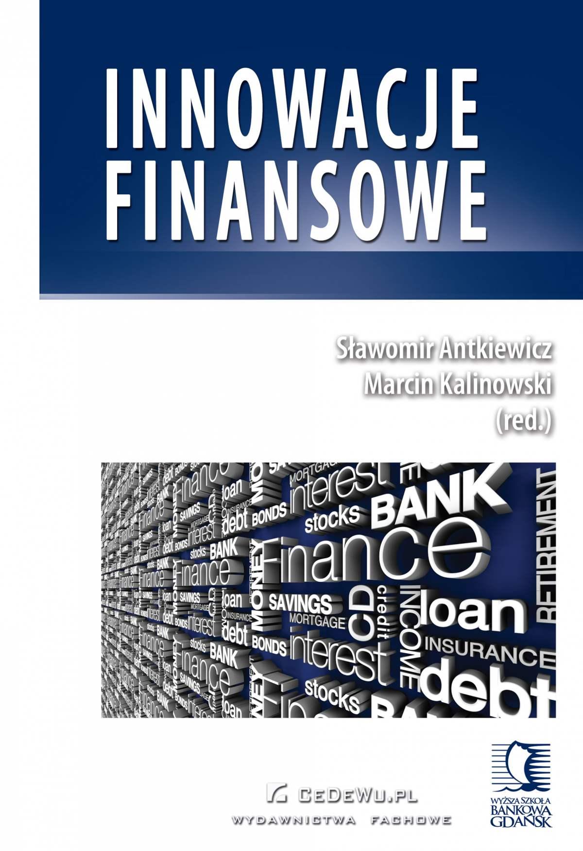 Innowacje finansowe - Ebook (Książka PDF) do pobrania w formacie PDF