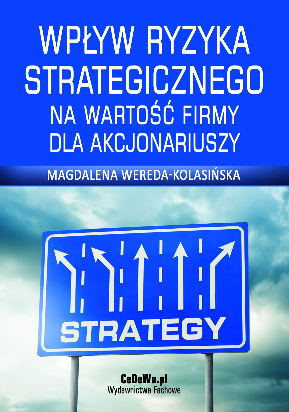 Wpływ ryzyka strategicznego na wartość firmy dla akcjonariuszy - Ebook (Książka PDF) do pobrania w formacie PDF
