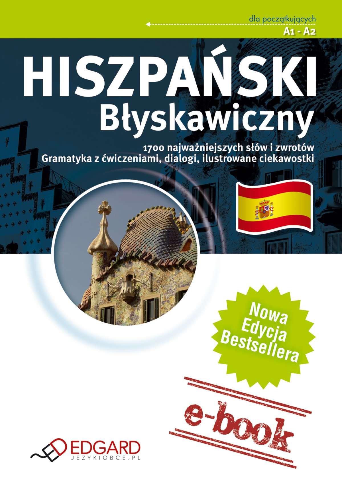 Hiszpański Błyskawiczny - Ebook (Książka EPUB) do pobrania w formacie EPUB