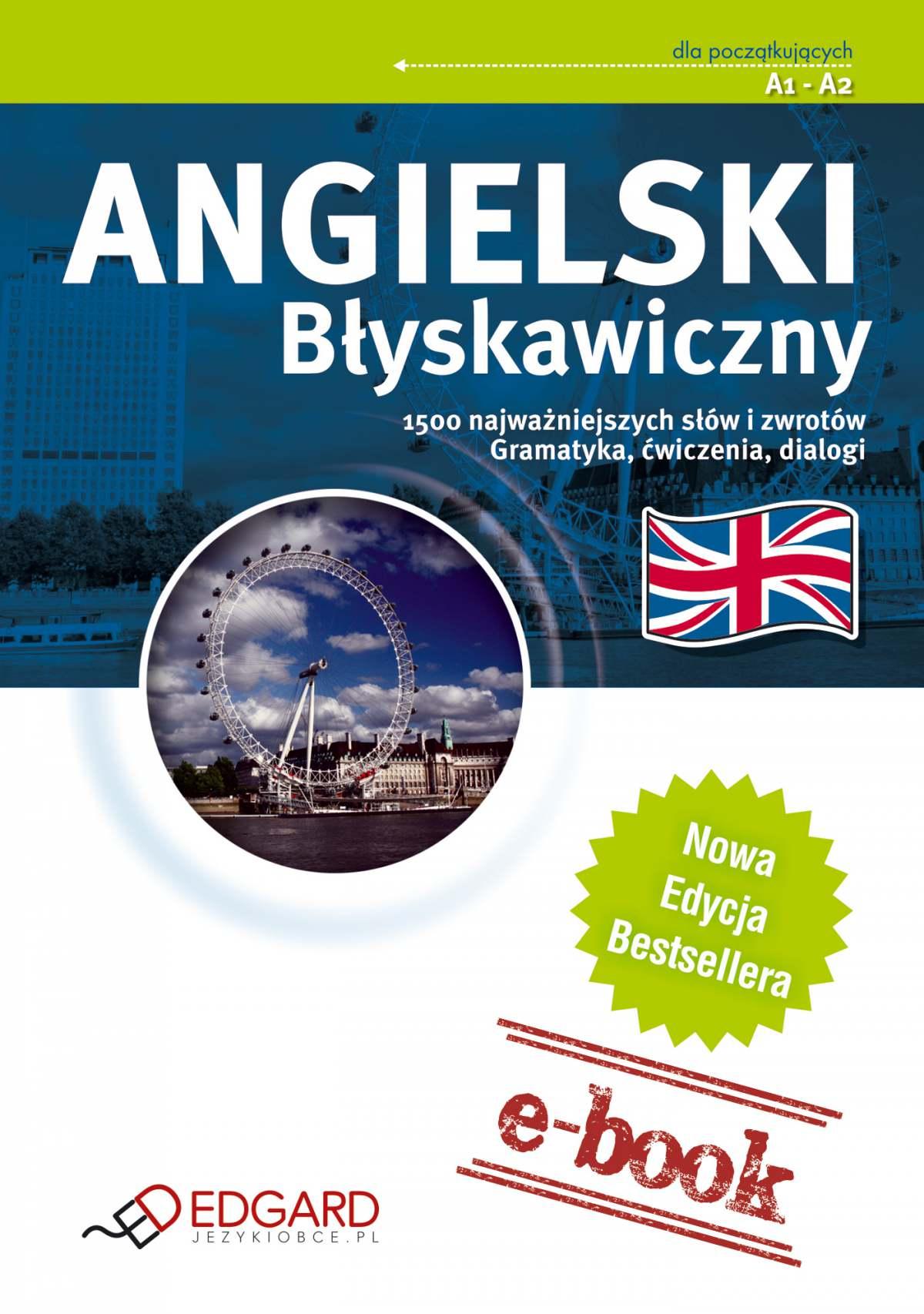 Angielski Błyskawiczny - Ebook (Książka EPUB) do pobrania w formacie EPUB