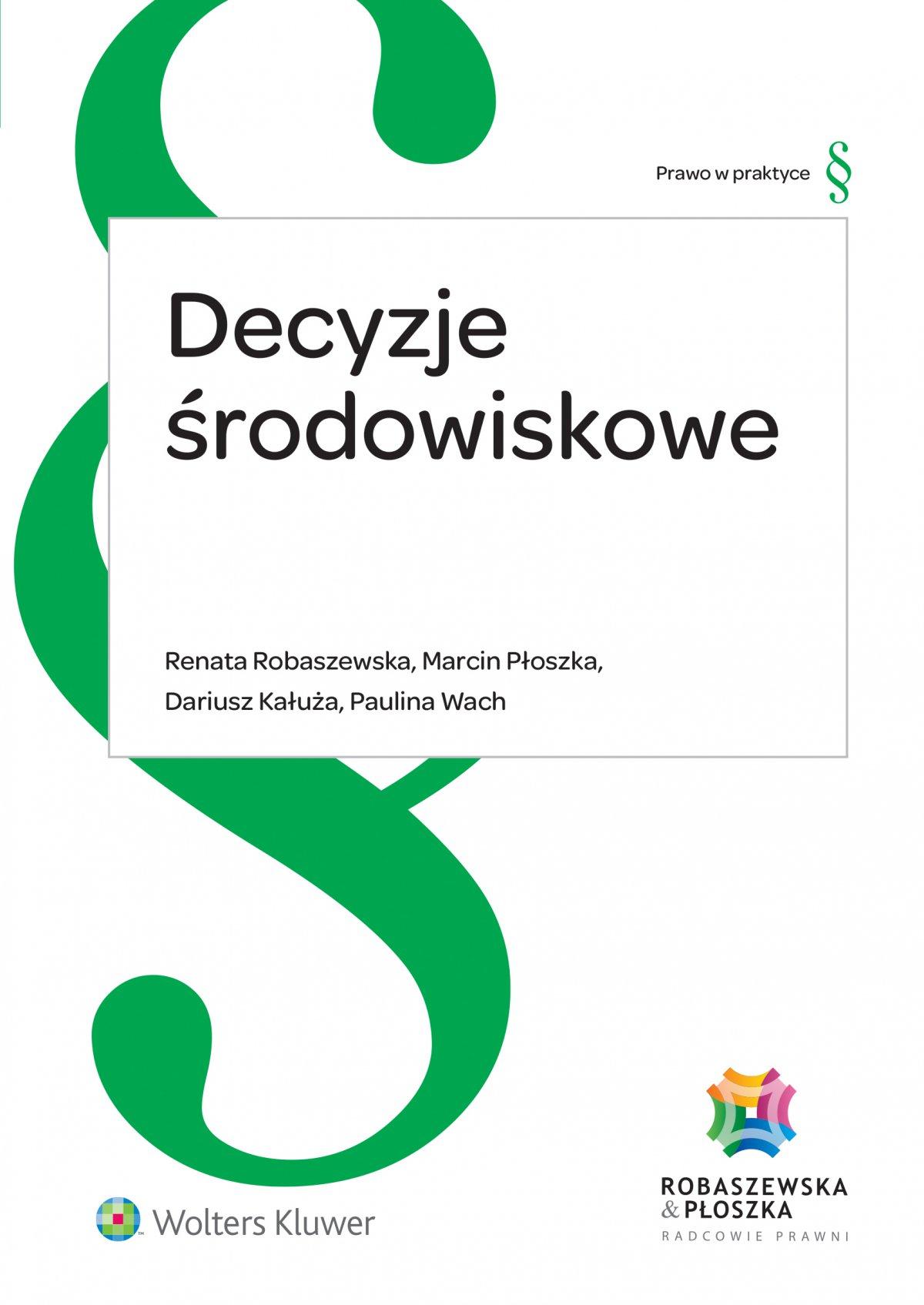 Decyzje środowiskowe - Ebook (Książka EPUB) do pobrania w formacie EPUB