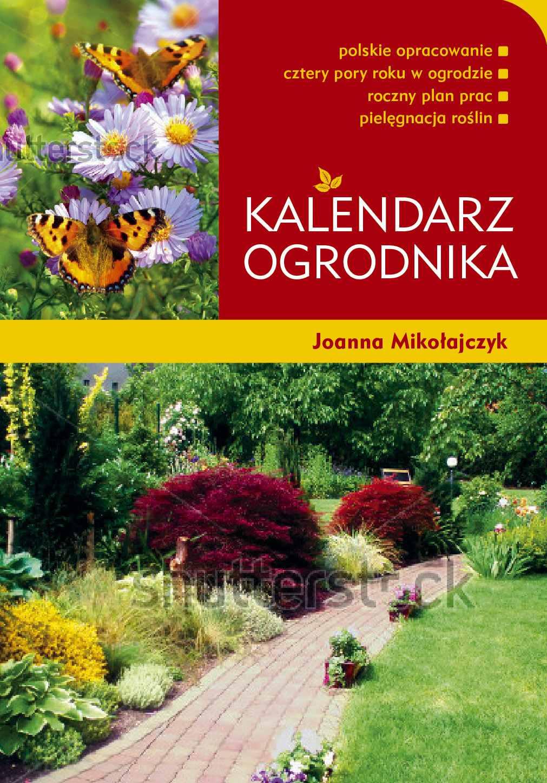 Kalendarz ogrodnika - Ebook (Książka PDF) do pobrania w formacie PDF