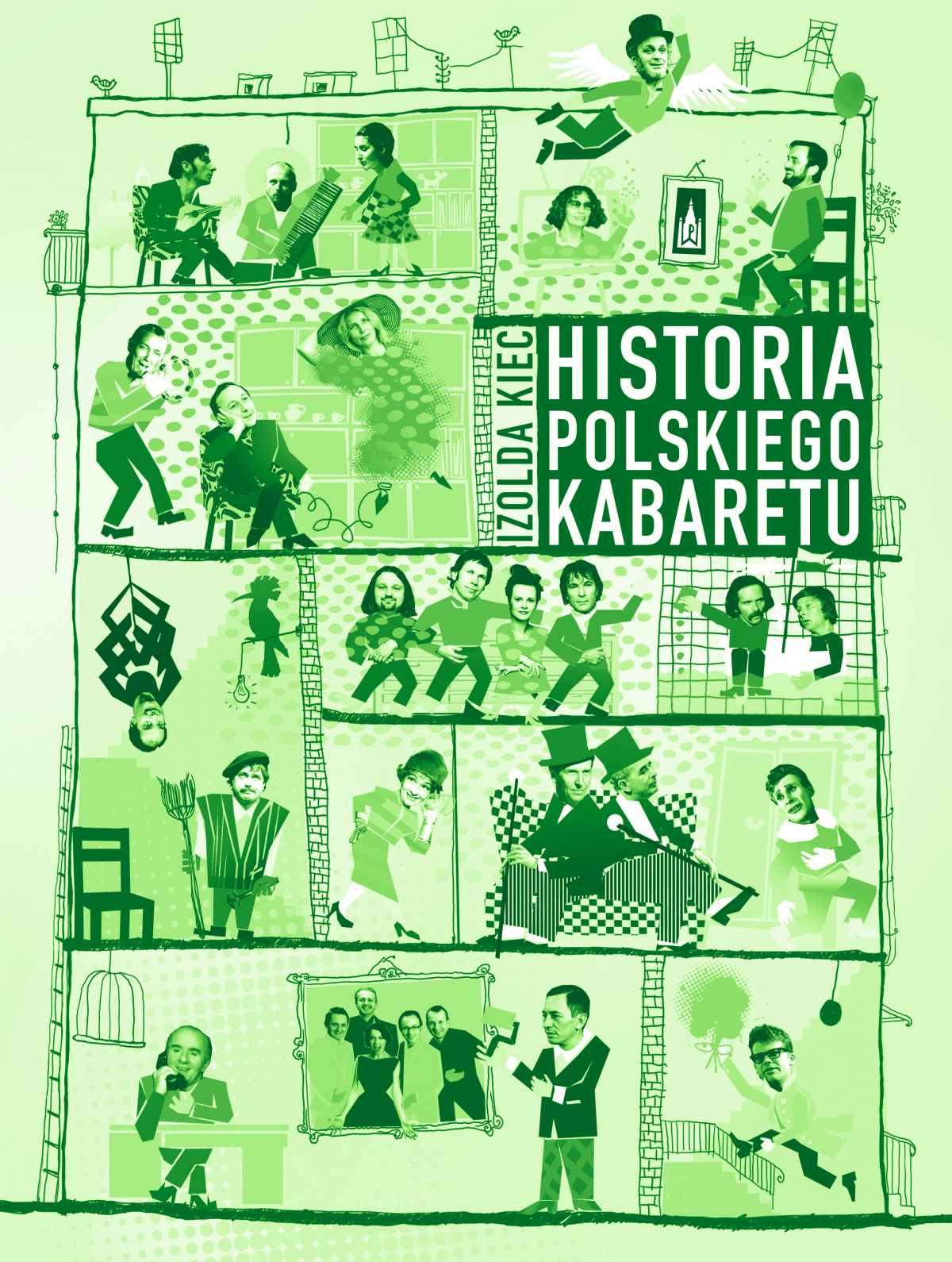 Historia polskiego kabaretu - Ebook (Książka na Kindle) do pobrania w formacie MOBI