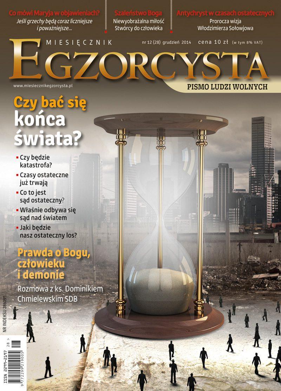 Miesięcznik Egzorcysta. Grudzień 2014 - Ebook (Książka PDF) do pobrania w formacie PDF