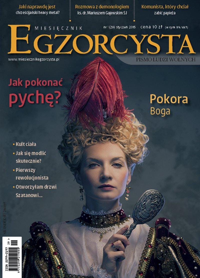 Miesięcznik Egzorcysta. Styczeń 2015 - Ebook (Książka PDF) do pobrania w formacie PDF