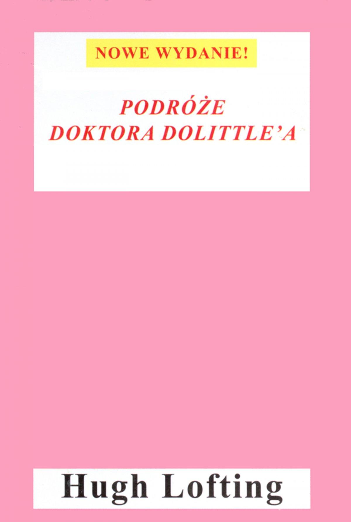 Podróże doktora Dolittle - Ebook (Książka EPUB) do pobrania w formacie EPUB