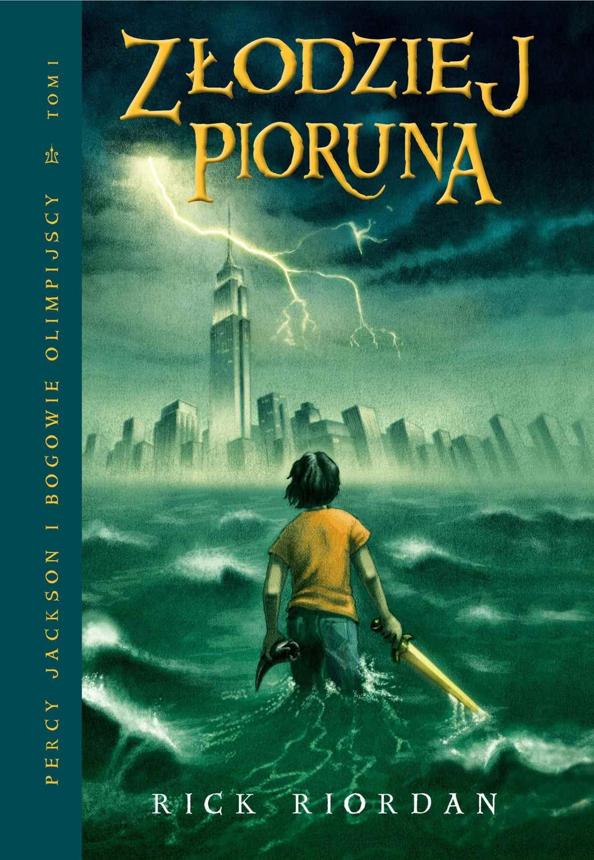 Złodziej Pioruna. Tom I Percy Jackson i Bogowie Olimpijscy - Ebook (Książka na Kindle) do pobrania w formacie MOBI