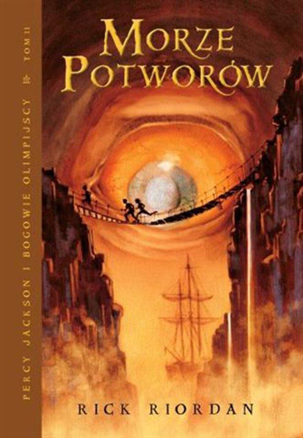 Morze Potworów. Tom II serii Percy Jackson i Bogowie Olimpijscy - Ebook (Książka na Kindle) do pobrania w formacie MOBI