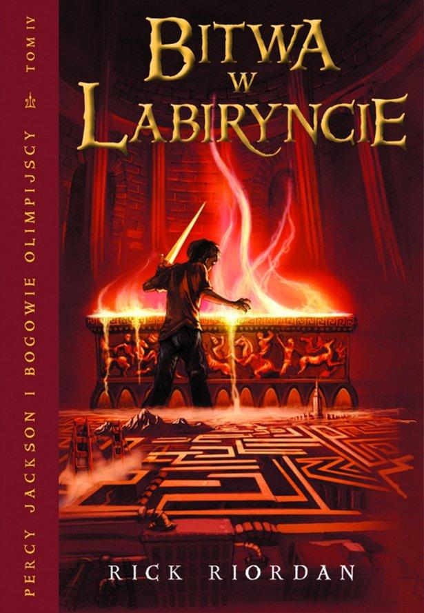 Bitwa w Labiryncie. Tom IV Percy Jackson i Bogowie Olimpijscy - Ebook (Książka na Kindle) do pobrania w formacie MOBI
