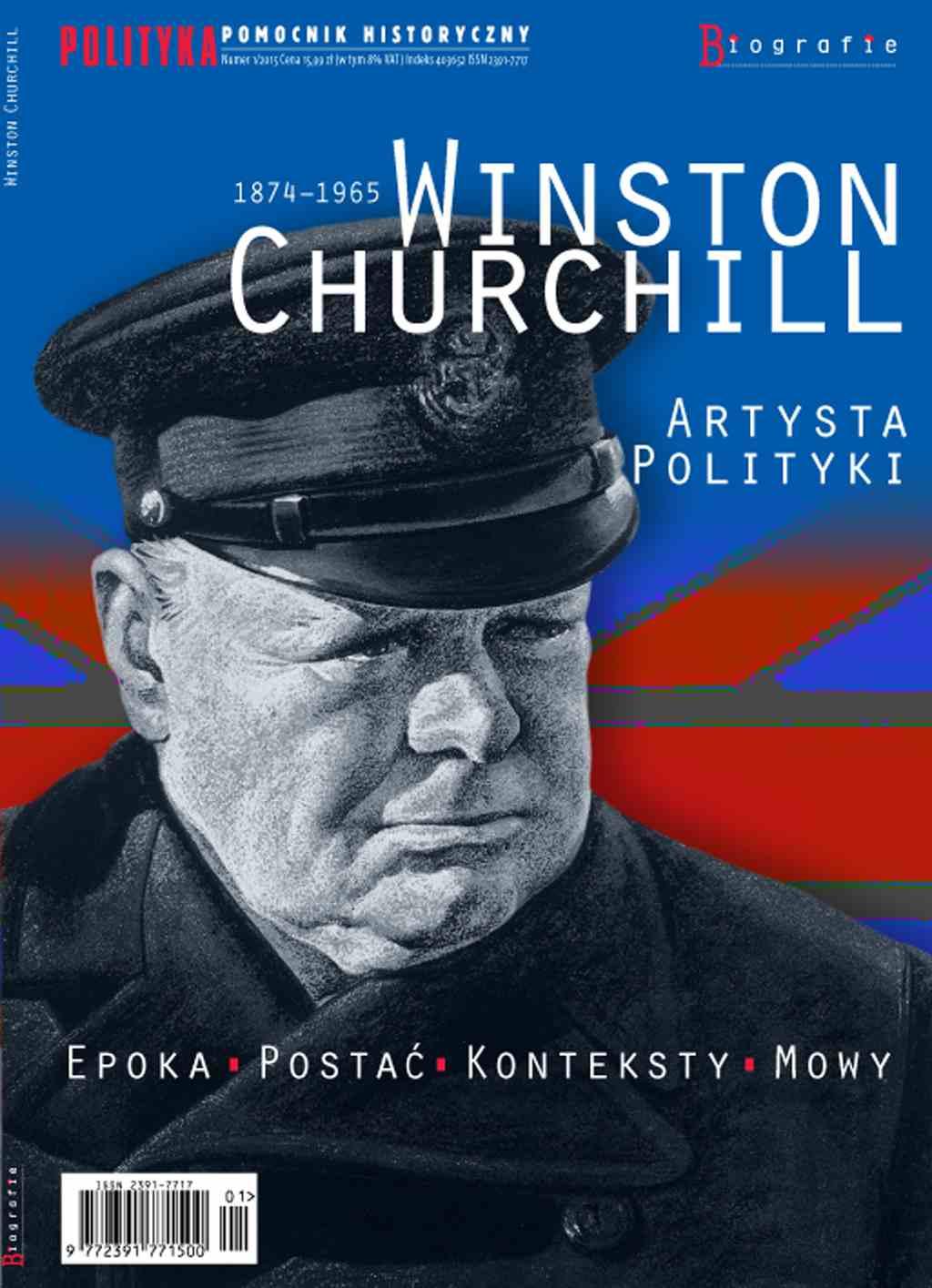 Pomocnik Historyczny. Winston Churchill Artysta Polityki - Ebook (Książka PDF) do pobrania w formacie PDF