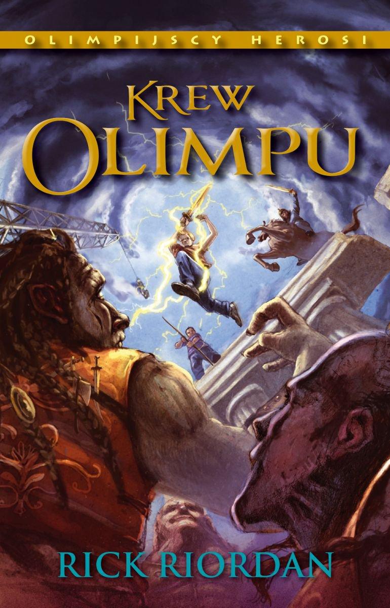 Krew Olimpu. Tom V Olimpijscy herosi - Ebook (Książka na Kindle) do pobrania w formacie MOBI