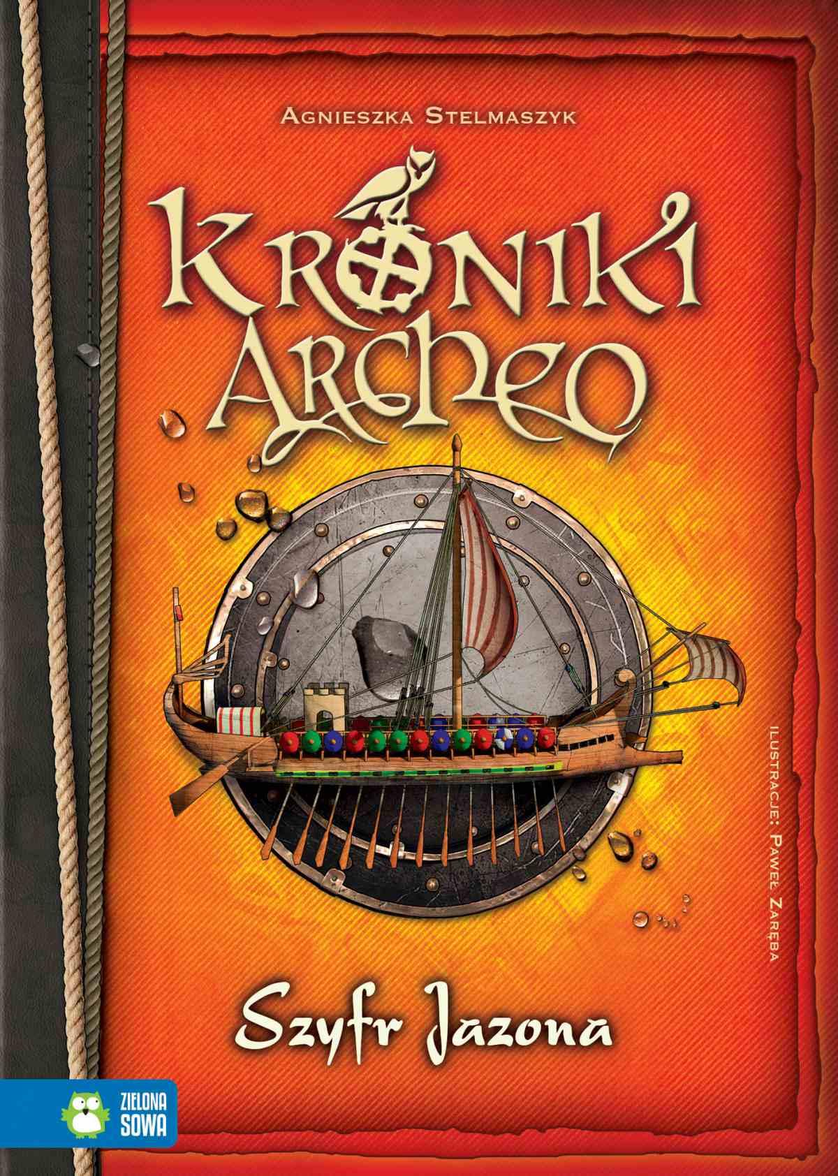Kroniki Archeo: Szyfr Jazona - Ebook (Książka EPUB) do pobrania w formacie EPUB